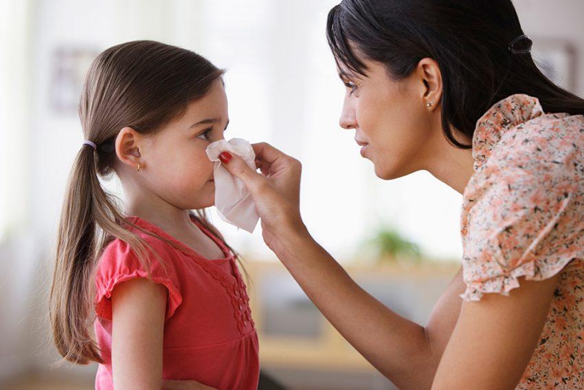 ρινορραγία στα παιδιά